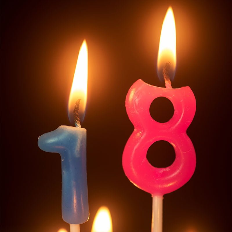 18 års fødselsdagshilsen