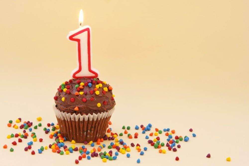 Aktiviteter og gaver til barnets første fødselsdag